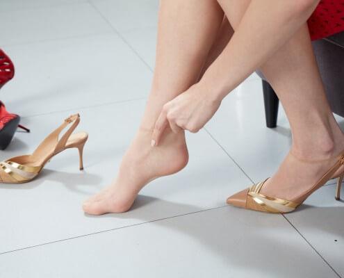 calze usa e getta per negozi di scarpe