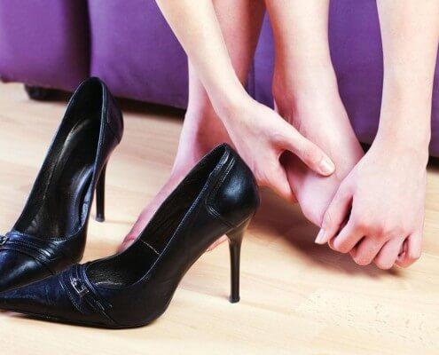 come allargare le scarpe