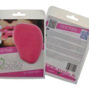 Cuscinetto in lattice rosa antiscivolo per tacchi alti