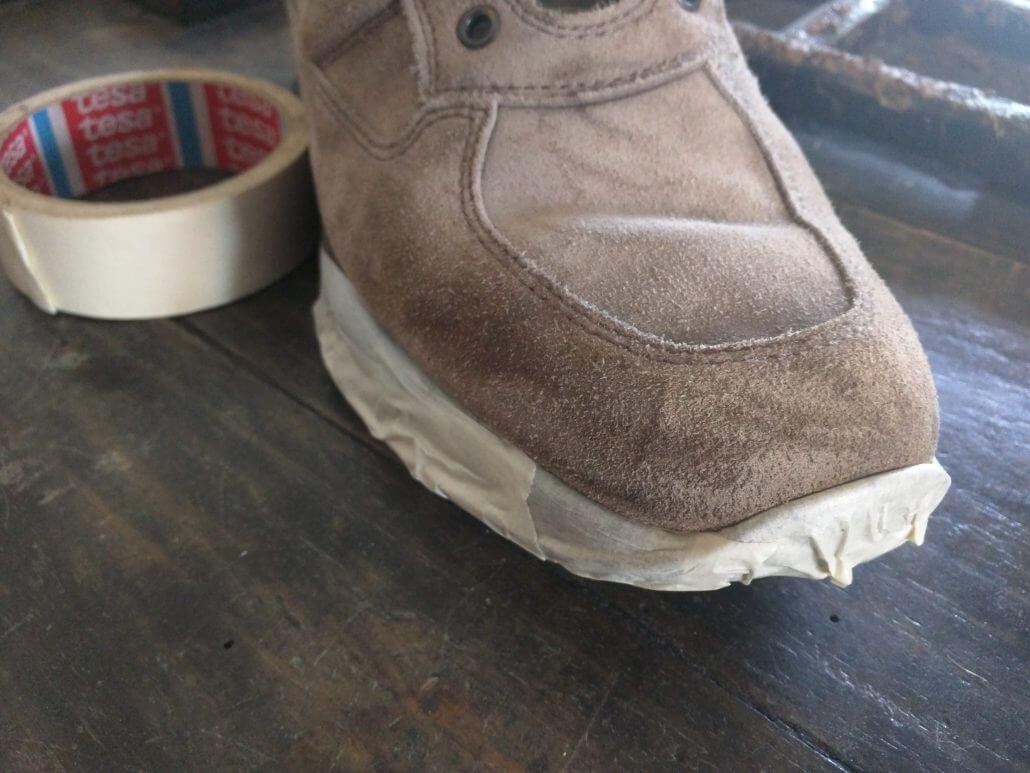 pulire scarpe nike scamosciate