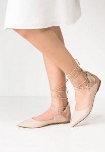 Ballerine allacciate alla caviglia estate 2016