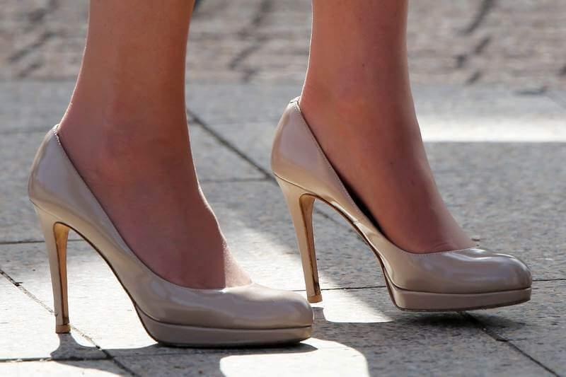 solette scarpe tacco alto