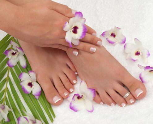 Come si chiamano le dita dei piedi