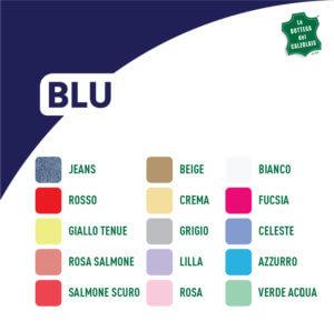 Abbinamento colori blu