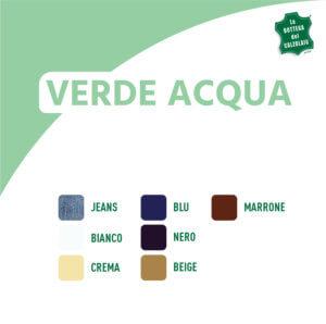 Abbinamento colori verde acqua