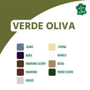 Abbinamento colori verde oliva