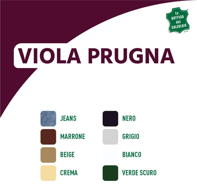 Abbinamento colori viola prugna