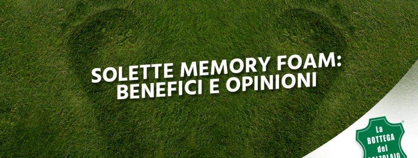 soletta memory foam
