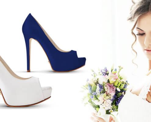 tingere scarpe da sposa