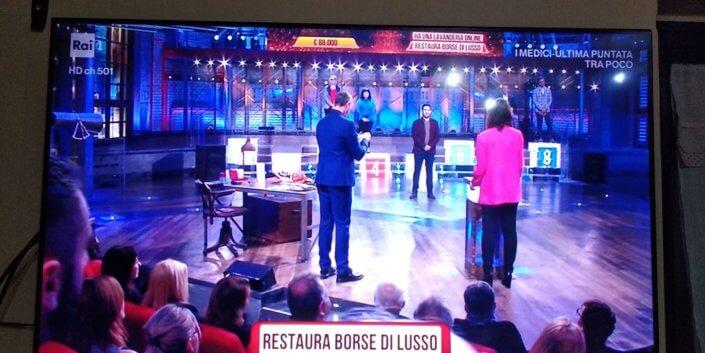 Luca - Restaura borse di lusso - I Soliti Ignoti